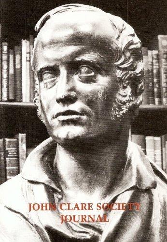 JOHN CLARE SOCIETY JOURNAL NOS 20: JOHN GOODRIDGE