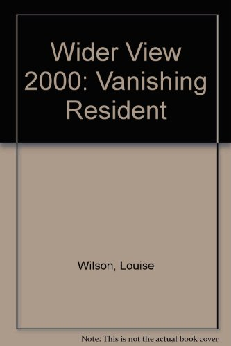 9780953922208: Wider View 2000: Vanishing Resident