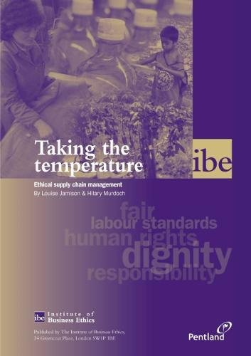 9780953951758: Taking the Temperature: Ethical Supply Chain Management