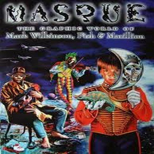 9780953955107: Masque: The Graphic World of Mark Wilkinson, Fish and