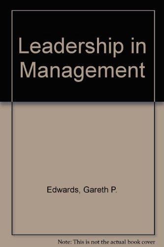 9780954000516: Leadership in Management