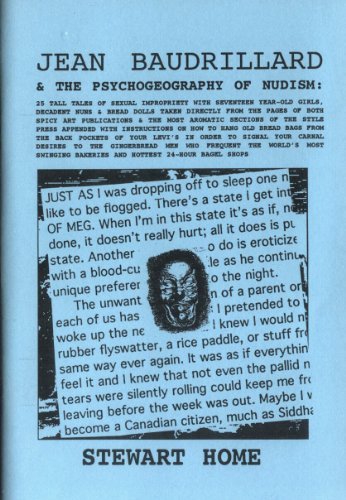 9780954006303: Jean Baudrillard and the Psychogeography of Nudism