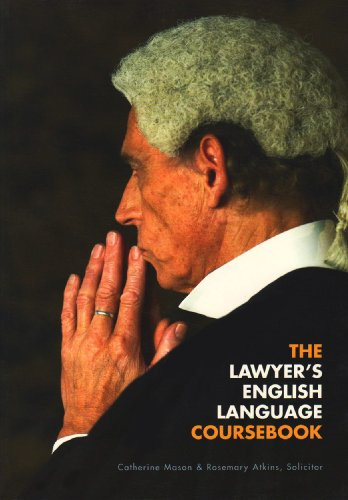 9780954071431: The Lawyer's English Language Coursebook