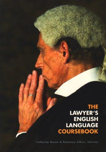 9780954071431: The Lawyer's English Language Coursebook