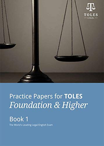 9780954071455: Practice Papers for TOLES Foundation & Higher Book One