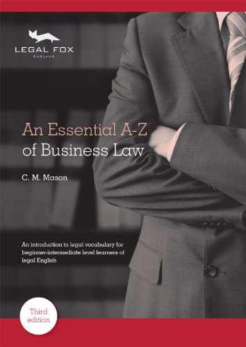 9780954071479: An Essential A-Z of Business Law