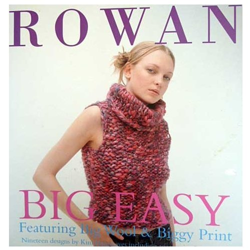 RIBBON TWIST Knitting DESIGNS for BIG WOOL TUFT Rowan RIBBON TWIST COLLECTION