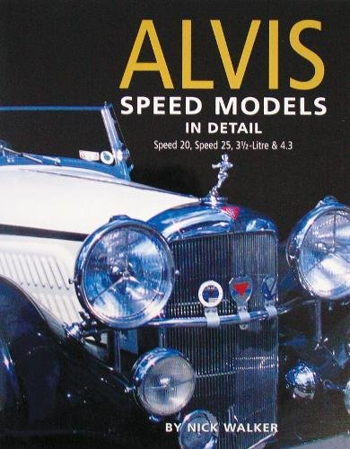 9780954106300: Alvis Speed Models in Detail (In Detail (Herridge & Sons))