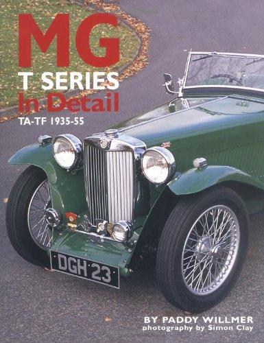 MG T Series In Detail: TA-TF 1935-55: Willmer, Paddy