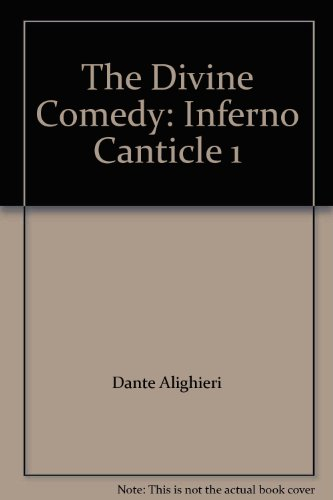 9780954113285: The Divine Comedy: Inferno Canticle 1