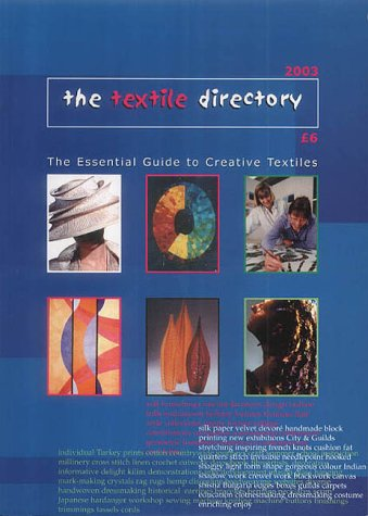 9780954120917: The Textile Directory 2003: The Essential Guide to Creative Textiles