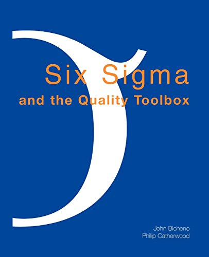 9780954124427: Six SIGMA and the Quality Toolbox