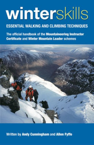 9780954151133: Winter Skills: Essential Walking and Climbing Techniques
