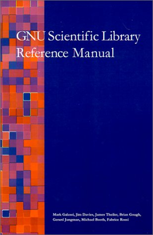 9780954161705: Gnu Scientific Library Reference Manual
