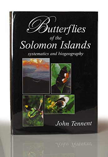 9780954204501: Butterflies of the Solomon Islands: Systematics and Biogeography