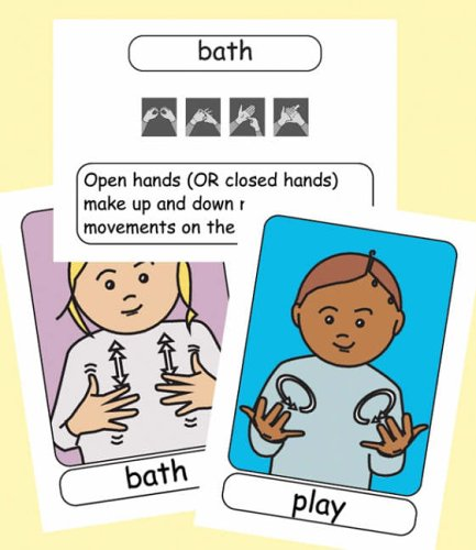 9780954238452: Let's Sign BSL Flashcards: Early Years and Baby Signs (British Sign Language)