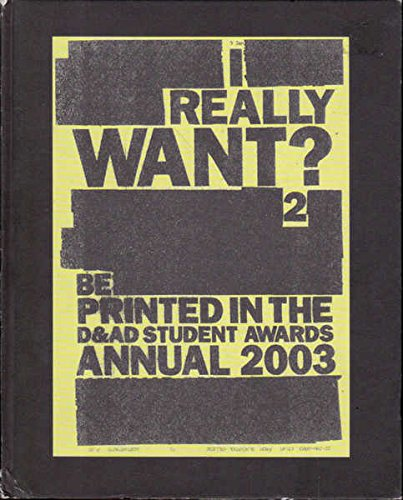 9780954278410: D&AD Student Awards Annual 2003 2003