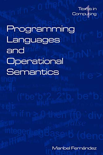 9780954300630: Programming Languages and Operational Semantics: An Introduction