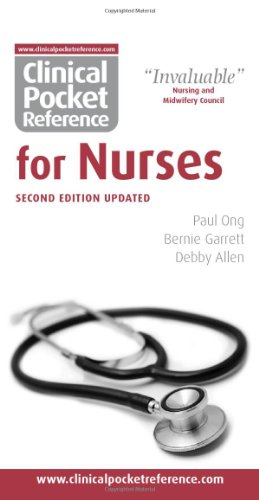 9780954306595: Clinical Pocket Reference for Nurses