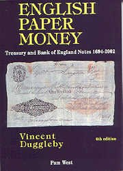 9780954345709: English Paper Money