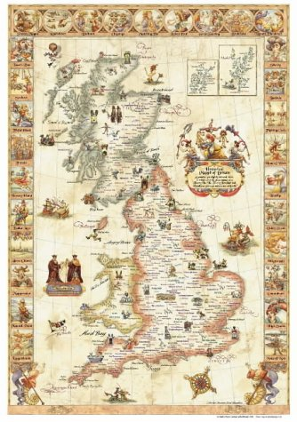 9780954345808: Hysterical Mappe of Britain: Latitude with Attitude