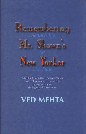9780954352059: Remembering Mr Shawn's New Yorker