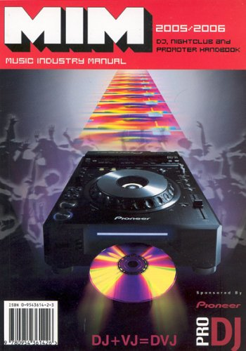9780954361426: Music Industry Manual: DJ, Nightclub, Promoter Handbook