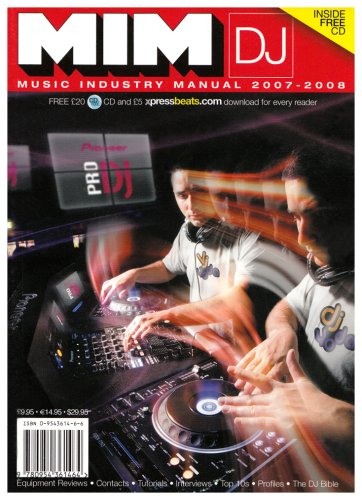 MIM DJ: Music Industry Manual - The: Robertson, James