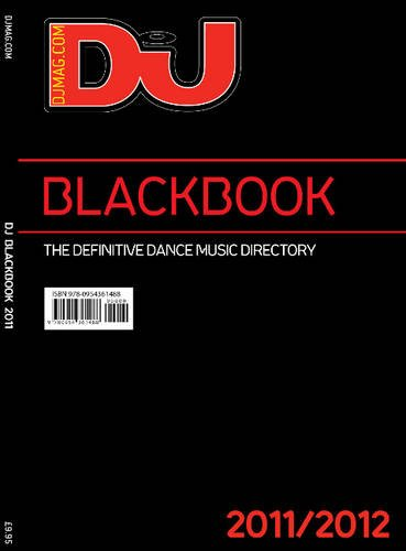 9780954361495: DJ Blackbook 2011/2012: The Definitive Dance Music Directory