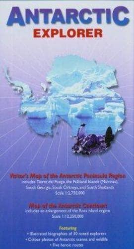 9780954371760: Antarctic Explorer Map; (Ocean Explorer Maps)