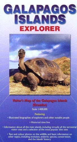 9780954371777: Galapagos Islands : Explorer (Ocean Explorer Maps)