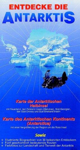 9780954371784: Entdecke die Antarktis (Ocean Explorer Maps) (German Edition)