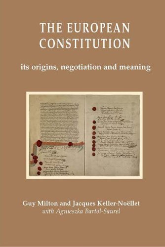 9780954381165: The European Constitution: Its Origins, Negotiation and Meaning