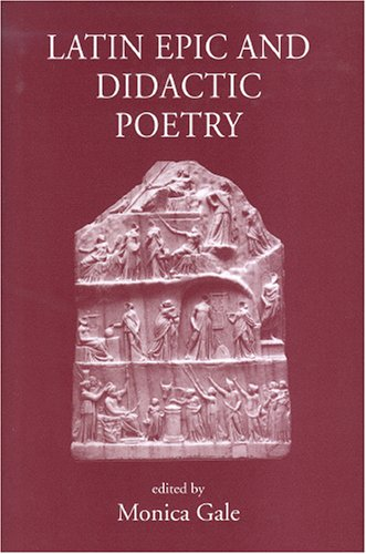 9780954384562: Latin Epic and Didactic Poetry: Genre, Tradition and Individuality