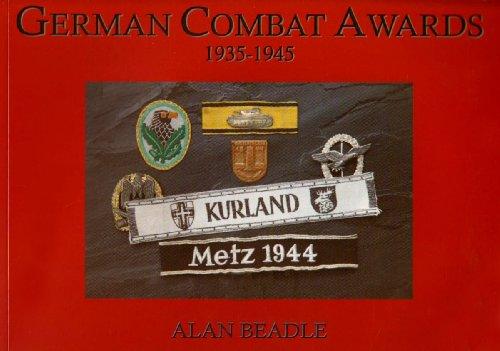 9780954385101: German Combat Awards 1935-1945