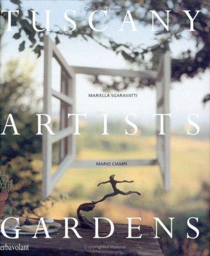 9780954428822: Tuscany Artists Gardens