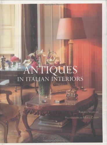9780954428853: Antiques in Italian Interiors Volume 1 (v. 1)