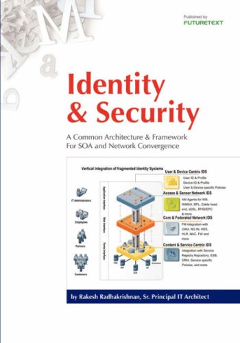 9780954432799: Identity & Security: A Common Architecture & Framework For SOA and Network Convergence