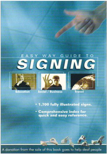 9780954444303: Easy Way Guide to Signing