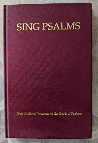 9780954459130: Sing Psalms Music Edition (SOL-FA): New Metrical Versions of the Book of Psalms
