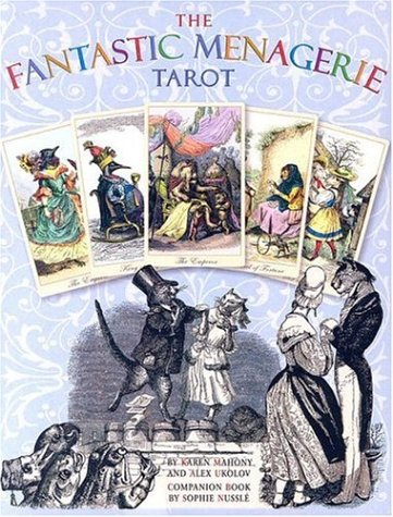 9780954500771: The Fantastic Menagerie Tarot Kit [With Companion Book by Sophie Nussle]