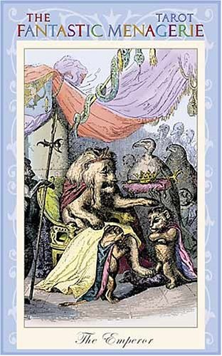 9780954500788: The Fantastic Menagerie Tarot Deck: Based on the Animal Illustrations of JJ Grandville