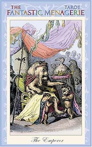 9780954500788: The Fantastic Menagerie Tarot Deck: Based on the Animal Illustrations of JJ Grandville