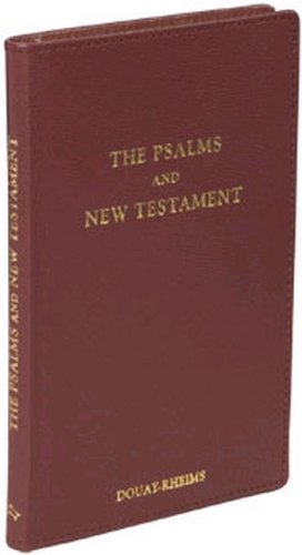 Psalms and New Testament (Burgundy Leather)