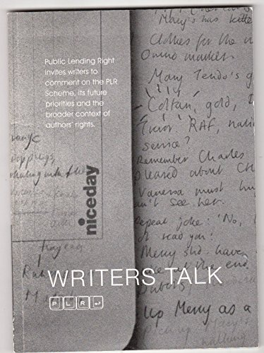 WRITERS TALK: CREATIVE RELATIONSHIPS AND PLR.: CHEVALIER, Tracey (Foreword).