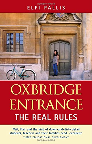 9780954594473: Oxbridge Entrance