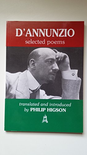 9780954600624: D'Annunzio: Selected Poems