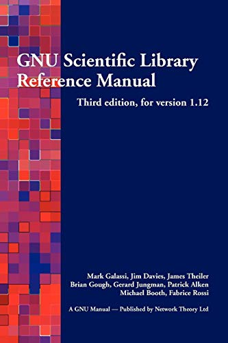 9780954612078: GNU Scientific Library Reference Manual - Third Edition