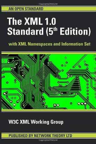 9780954612092: The XML 1.0 Standard (5th Edition)