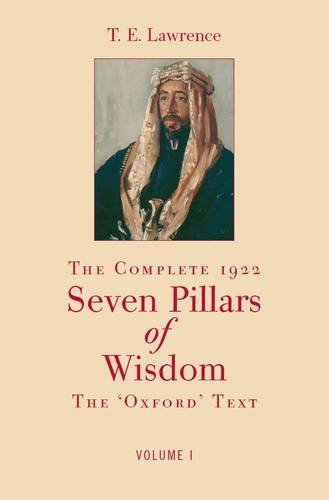 9780954641818: The Complete 1922 Seven Pillars of Wisdom
